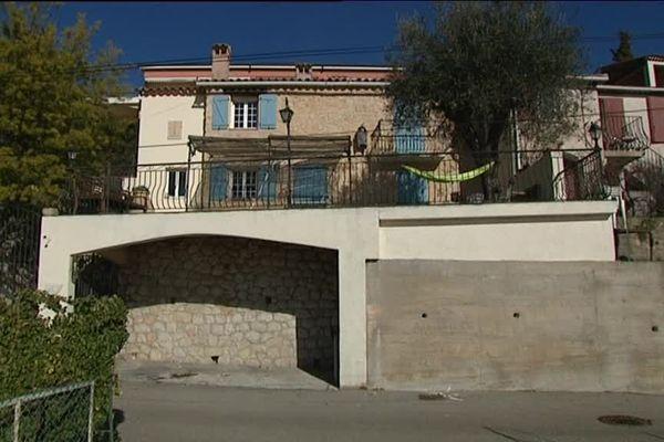Villa où le corps de Dorst Notthoff a été retrouvé en septembre 2011, quartier de La Pella, à Eze
