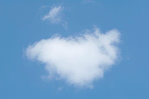 Un nuage de beau temps