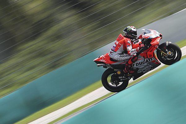 Un pilote de Ducati (image d'illustration).