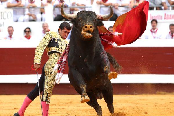 Le torero mexicain Joselito Adame est passé à deux doigts de la grande porte lors de la première corrida de la feria de Dax 2015