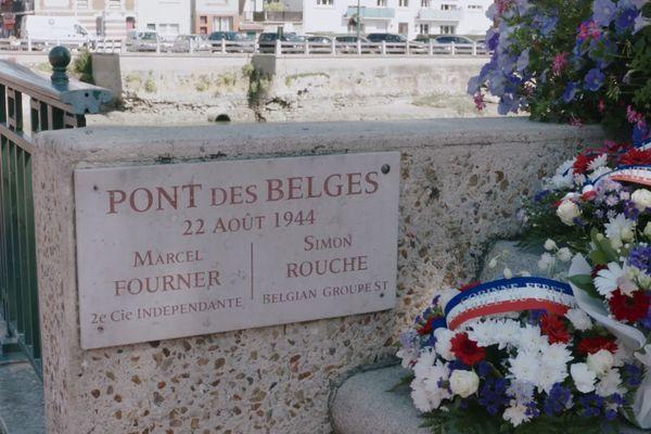 Le Pont des Belges reliant Deauville à Trouville