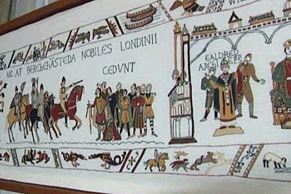 L'idée démangeait, les habitants d'Aurigny l'ont fait : broder la toute dernière scène, celle qui manque, à la plus célèbre œuvre anglo-normande, la Tapisserie de Bayeux