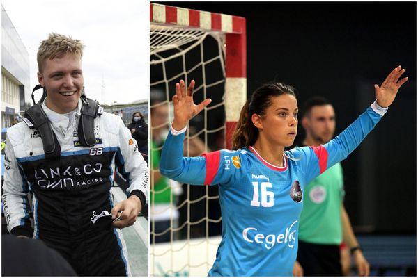 Yann Ehrlacher est sacré meilleur sportif individuel de l'année 2020, et Cléopatre Darleux est nommée ambassadrice du sport alsacien.