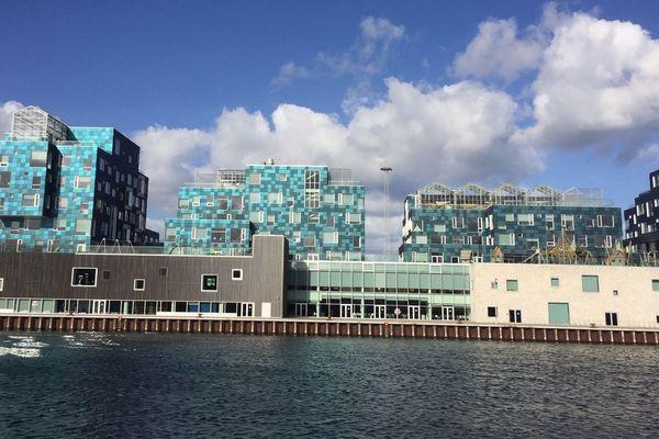 Une école de Copenhague avec ses panneaux photovoltaïques