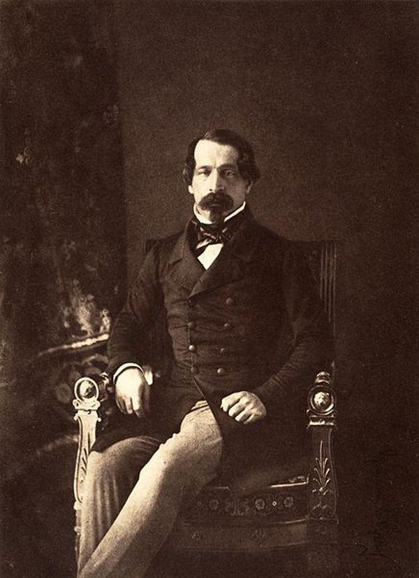 Une photo de Napoléon III prise par Gustave le Gray