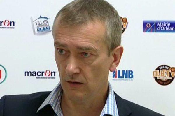 Pierre Vincent, coach de l'OLB