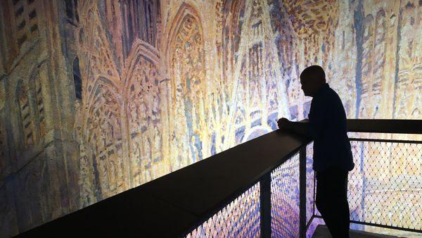 """""""La Cathédrale de Monet, l'espoir de la modernité"""", vue de 6m de haut"""