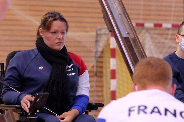La Nancéienne Sonia Heckel participe pour la première fois à des Jeux paralympiques.