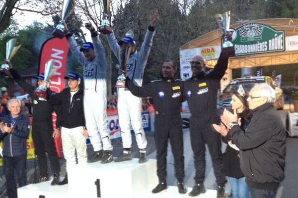 """Jean-Marie Cuoq est enfin monté sur la première marche du podium au """"Charbo""""."""