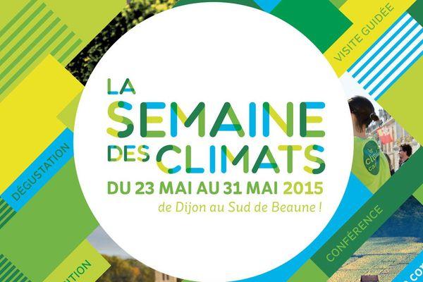 La semaine des climats de tiendra du 23 au 31 mai 2015