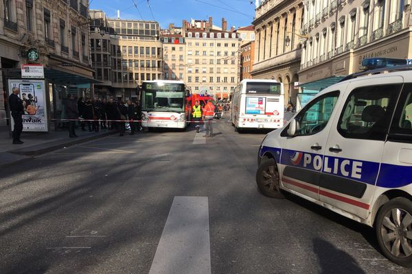 L'accident à eu lieu rue de la République au niveau de l'Hôtel de Ville