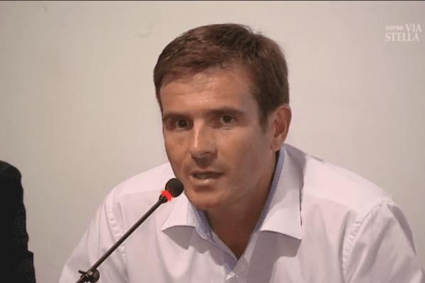 """Jean-Martin Mondoloni, liste """"Une nouvelle Corse"""" pour les élections territoriales de décembre 2017"""