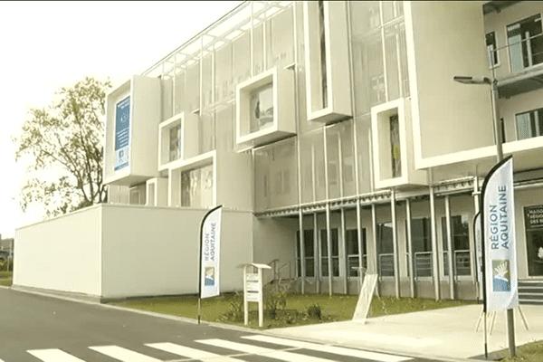 La Maison régionale des sports  inaugurée le 24 septembre 2015 à Talence