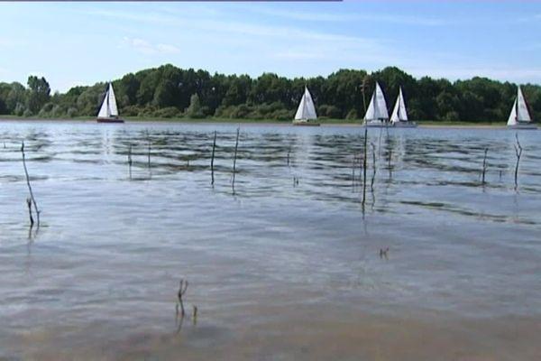 Le lac du Bourdon, à Saint-Fargeau dans l'Yonne. (archives)