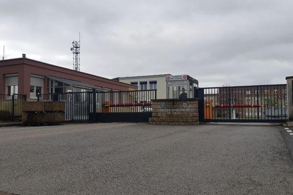 L'école de gendarmerie de Tulle, en Corrèze.