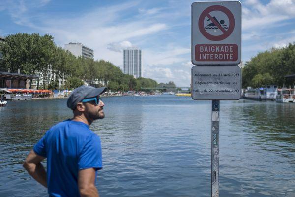 Le bassin de La Villette, à Paris.