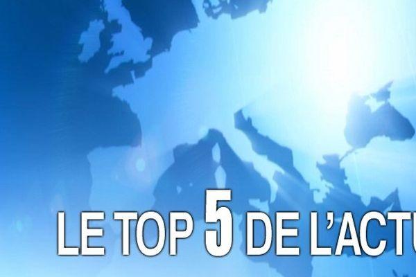 Le Top 5 des articles les plus lus et partagés cette semaine