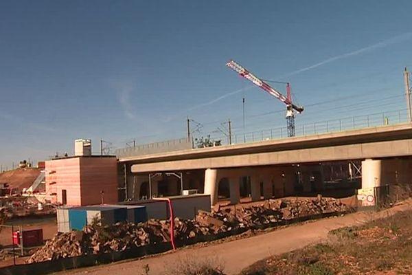 Les travaux autour de la gare ont déjà commencé - archives.