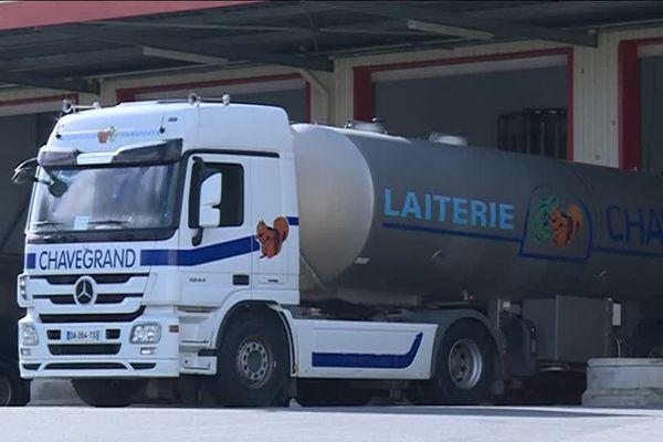 La laiterie creusoise Chavegrand qui rachète le lait aux producteurs