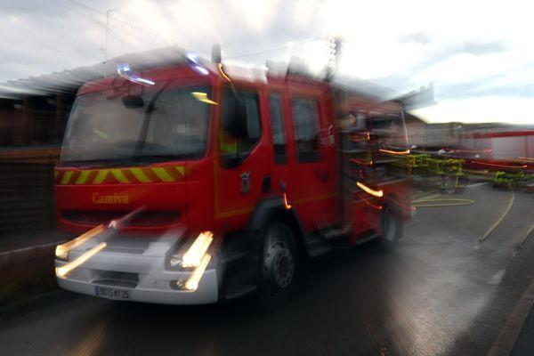 Neuf engins sont intervenus pour maîtriser l'incendie