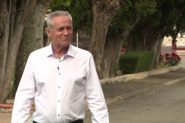 Francis Dupouey est conseiller départemental depuis 39 ans dans le canton de Mirande-Miélan. 2021.