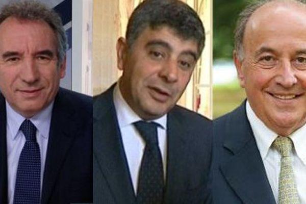 François Bayrou - David Habib - Yves Urieta