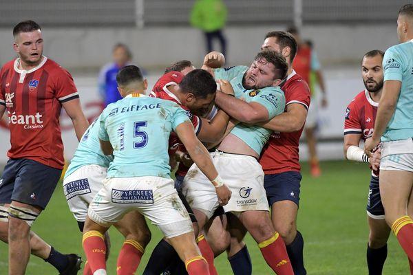 Nouvelle défaite pour le Stade aurillacois, vendredi 11 octobre, au stade Jean-Alric, à Aurillac, dans le Cantal. Après Béziers, c'est au tour de Perpignan de s'imposer 28-41. C'est la quatrième défaite depuis le début de la saison.
