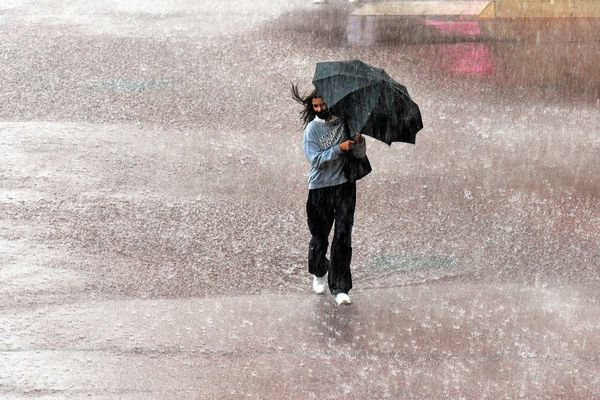 Un épisode orageux actif a engendré des records de précipitations, localement, en Occitanie. La vigilance orange est maintenue dans quatre départements ce jeudi 9 septembre 2021.