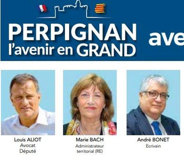 André Bonet, écrivain, directeur du Centre Méditerranéen du Livre, soutien et proche de Jean-Pierre Bonnel, s'est engagé sur la liste de Louis Aliot pour ces municipales 2020 sur Perpignan.