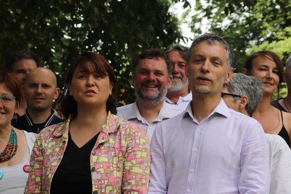 Les 2 têtes de listes EELV sont Stéphanie Bocquet et Stéphane Baly.