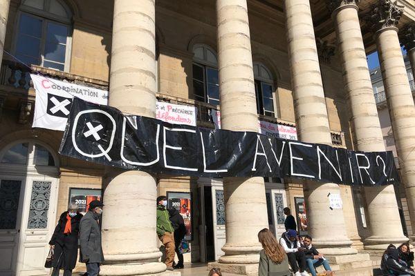 Le Grand Théâtre de Dijon est occupé par les intermittents
