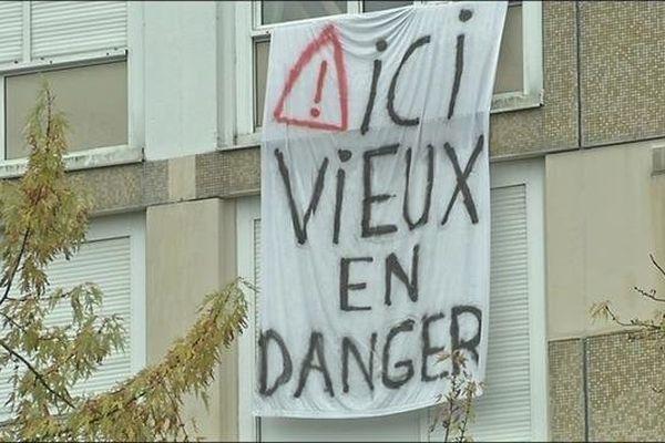 La barre du Petit Chênois à Montbéliard doit être démolie en 2015