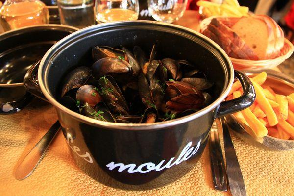 """L'opération """"Tricoquille"""" vise à recycler les coquilles de moules délaissées par les clients dans les restaurants de la Baie de Somme."""