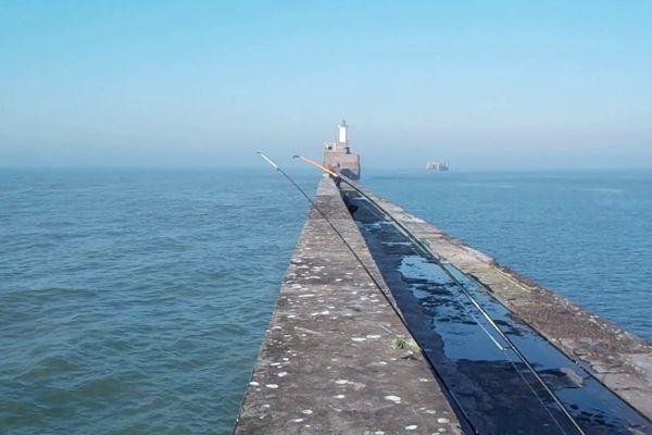 La digue Carnot à Boulogne-sur-mer