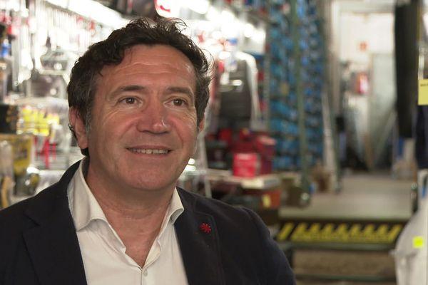Laurent Bergeonneau, gérant de la quincaillerie Hertig