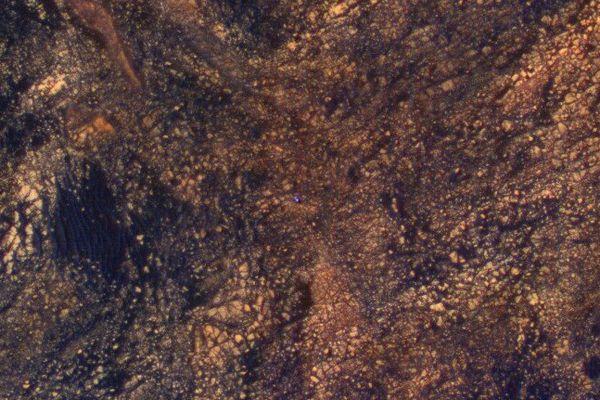 La surface de la planète Mars, photographiée dans le cadre de la mission Curiosity