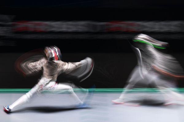 Photo d'illustration - Manon Brunet aux championnats du monde en 2018