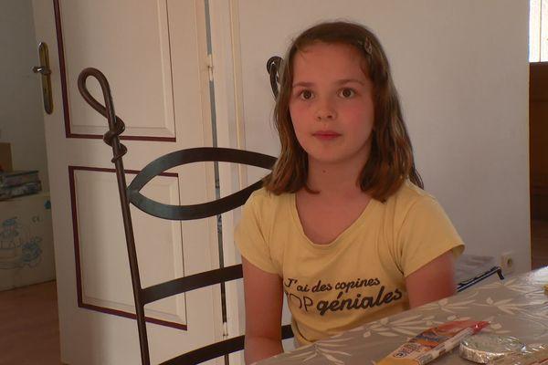 En tant que future marchande, Chloé Lecoq adhère totalement au projet de Sandrine et Nicolas, ses parents.