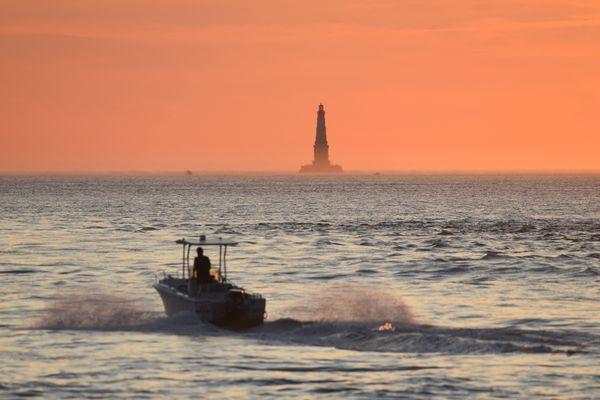 Le phare de Cordouan, photographié ici en juillet 2019, vient d'intégrer la prestigieuse liste des monuments classés au patrimoine mondial de l'Unesco.