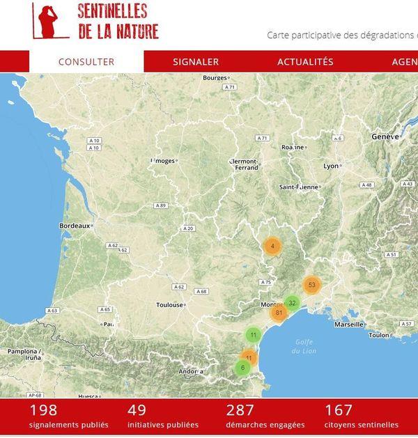En Occitanie, l'application a été lancée en mai 2019, depuis 193 signalements ont été faits - janvier 2020
