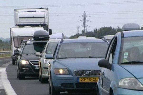 Archives autoroute bloquée
