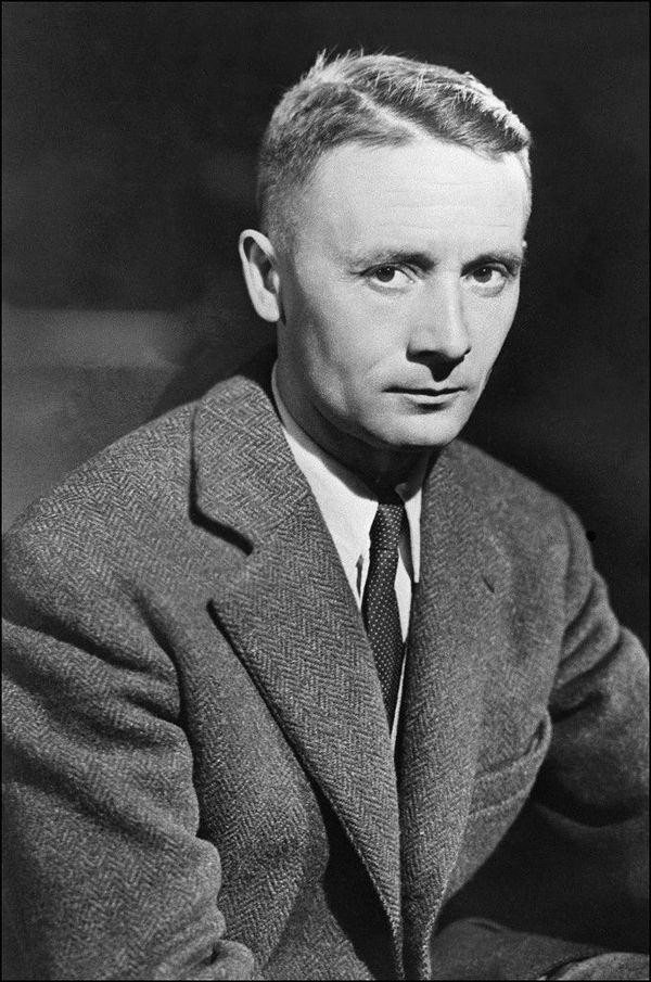 L'écrivain Julien Gracq en 1950.