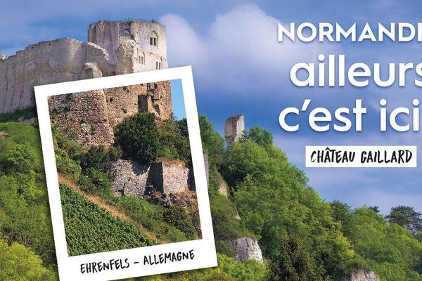Château Gaillard et son sosie allemand