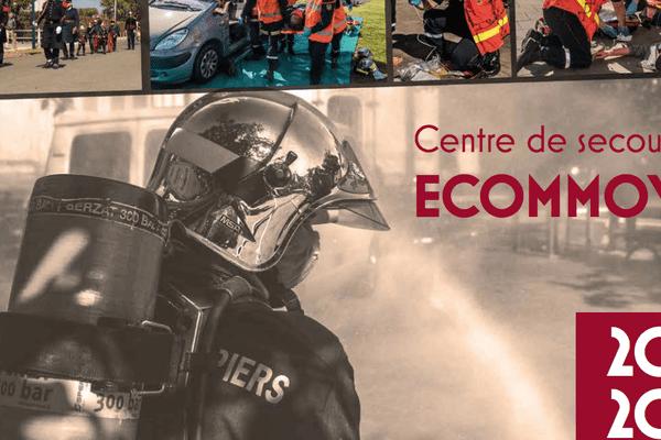 Le calendrier 2020 des pompiers d'Ecommoy dans la Sarthe