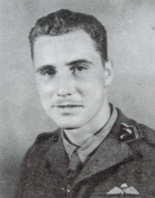 Pierre Léostic, membre de l'Escadron français des SAS.
