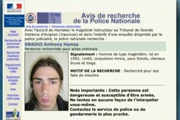 Anthony Draoui a échappé à la police pendant un an.