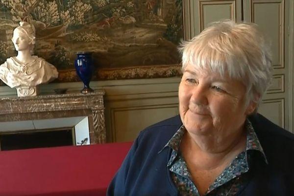 La ministre de la Cohésion des territoires Jacqueline Gourault était à Nogent-le-Rotrou ce 27 mai.