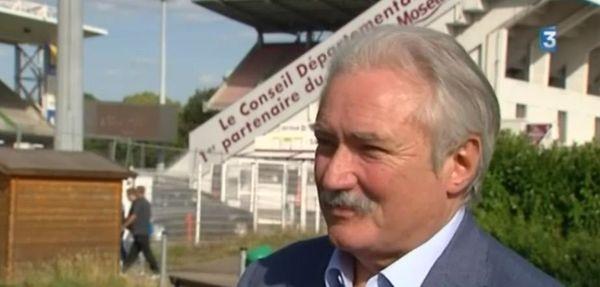 Bernard Serin, président du FC Metz