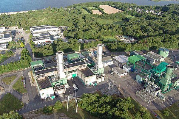 Centrale de turbines à combustion de Brennilis (Finistère)