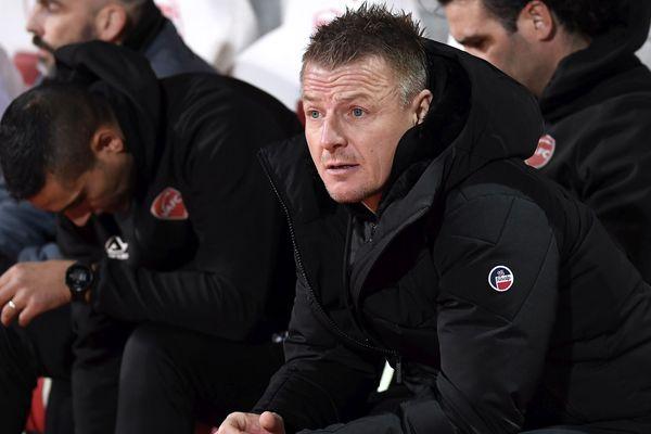 Olivier Guégan et son équipe ont dû se contenter d'un match nul vendredi soir contre l'AC Ajaccio.